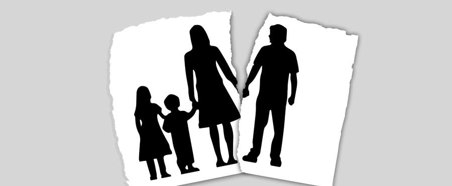 Foto separazione con figli